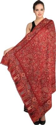 BRAVEZI Wool Self Design Women's Shawl