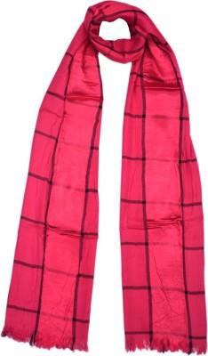 Parvin Silk Checkered Women's Shawl