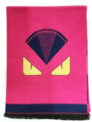 The Vatican Viscose Graphic Print Women's Shawl