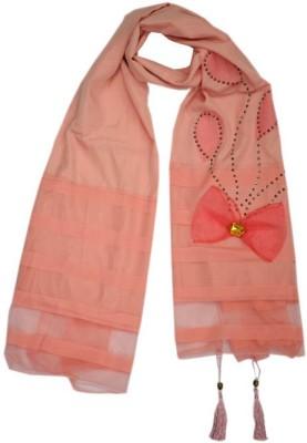 parvin Silk, Polyester Applique Women's Shawl