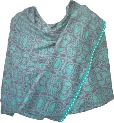 Vostro Cotton Printed Womens Shawl
