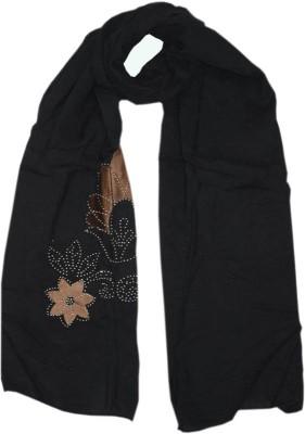 Parvin Poly Cotton Applique Women's Shawl