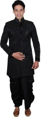 The Mods Western Star Self Design Sherwani