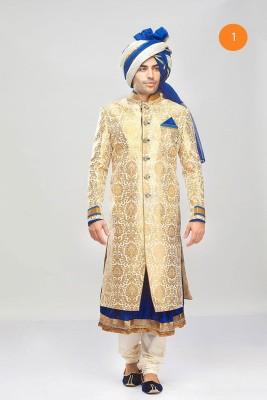 SWATHI Striped Sherwani