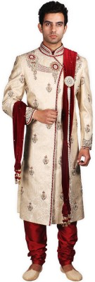 CP SINGH Embroidered, Embellished Sherwani