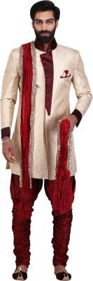 Men XS Embroidered Sherwani
