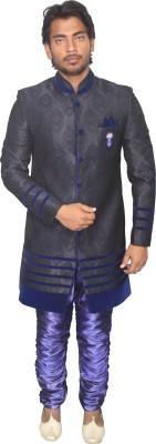 Young Fashion Self Design Sherwani