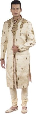 Kushaan Embroidered, Embellished Sherwani