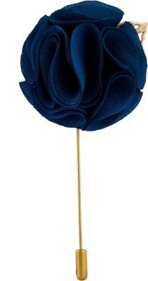 Avaron Projekt Handmade Tuxedo Flower Stainless Steel Sliding Pin Shirt Stud