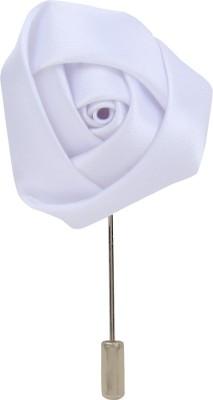 Eccellente LBLFWRPNPWHT Cotton Sliding Pin Shirt Stud