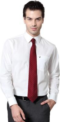 Allen Solly Men,s Solid Formal White Shirt