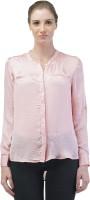 Merch21 Women's Solid Casual Pink Shirt best price on Flipkart @ Rs. 398