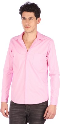 Neburu Men's Solid Casual Shirt