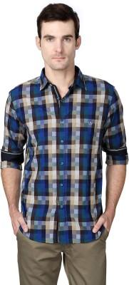 Van Heusen Men's Checkered Casual Multicolor Shirt