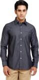 Philip Carlton Men's Solid Formal Grey S...