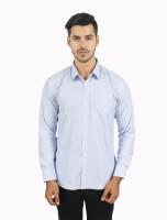Srn Formal Shirts (Men's) - SR'N Men's Solid Formal Light Blue Shirt