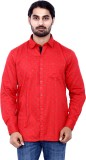 Cotton Signs Men's Printed Casual Red Sh...