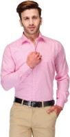 Koolpals Formal Shirts (Men's) - Koolpals Men's Striped Formal Pink Shirt