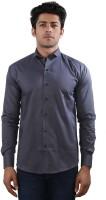 Just Differ Formal Shirts (Men's) - Just Differ Men's Self Design Formal Grey Shirt