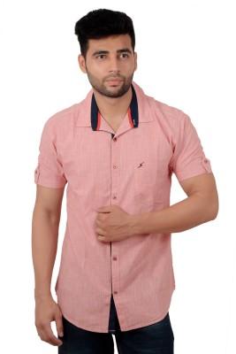 Studio Nexx Men's Checkered Casual Red Shirt