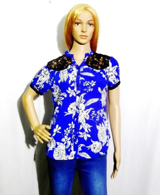 umesh fashion Women's Floral Print Casual Multicolor Shirt