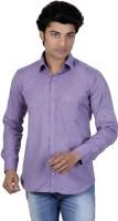 P.cod Formal Shirts (Men's) - P.COD Men's Solid Formal Purple Shirt