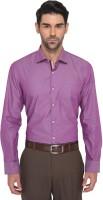 Metal Formal Shirts (Men's) - Metal Men's Self Design Formal Multicolor Shirt