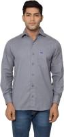 Nauhwar Formal Shirts (Men's) - Nauhwar Men's Solid Formal Grey Shirt