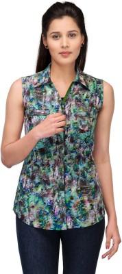 Fashion Cult Women's Floral Print Casual Multicolor Shirt