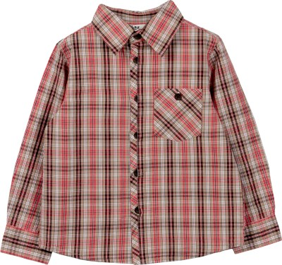 Beebay Boy's Checkered Casual Multicolor Shirt