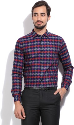 Arrow New York Mens Checkered Party Mult...