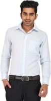 Prague Fashion Formal Shirts (Men's) - Prague Fashion Men's Solid Formal Light Blue Shirt