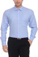 Colorplus Formal Shirts (Men's) - ColorPlus Men's Solid Formal Blue Shirt