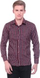 Fairly Men's Checkered Formal Red, Black...