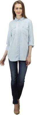 Splendent Women's Solid Casual Multicolor Shirt