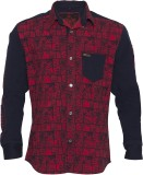 Lumber Boy Boys Printed Casual Red Shirt