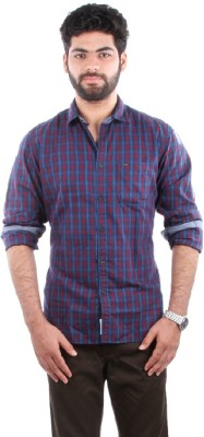 Indian Terrain Men's Striped Casual Multicolor Shirt