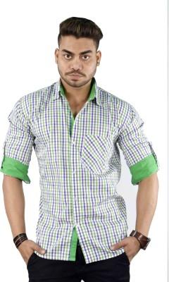 Your Desire Shirts Men's Checkered Casual Multicolor Shirt