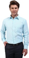 Outdoor Formal Shirts (Men's) - Outdoor Men's Striped Formal Light Green Shirt