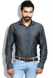 Goswhit Men's Solid Casual Black, Grey S...