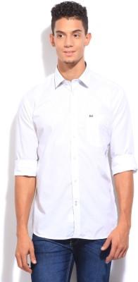 Arrow Sport Men's Solid Casual White Shirt