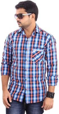 Paelilo Men's Checkered Casual Shirt