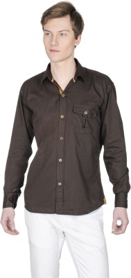 Poker Dreamz Men's Solid Formal Grey Shirt