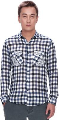 Srota Men's Checkered Casual Multicolor Shirt