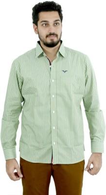 Fast Look Men's Striped Formal Multicolor Shirt
