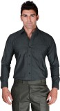 BlackLilly Men's Solid Formal Black Shir...