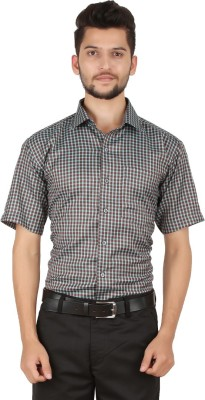 Stylo Shirt Men's Checkered Formal Multicolor Shirt