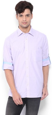 Nord51 Men's Solid Formal Pink Shirt