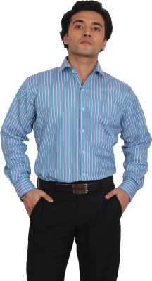 Brumax Men's Striped Formal Multicolor Shirt