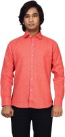 Raghuphool Formal Shirts (Men's) - Raghuphool Men's Solid Formal Red Shirt